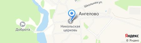 Храм Николая Чудотворца на карте Ангелова