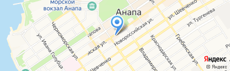 Жилплощадь на карте Анапы