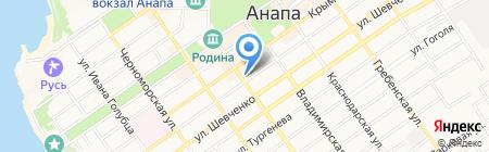 LaManche на карте Анапы
