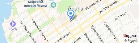 Madam Komilfo на карте Анапы