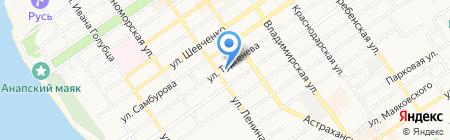 888 на карте Анапы