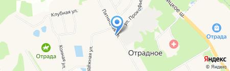 Марьинская амбулатория на карте Ангелова