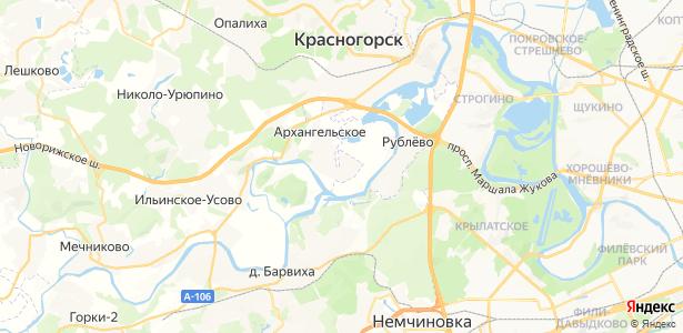 Захарково на карте