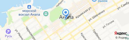 Часовня во имя пророка Осии на карте Анапы