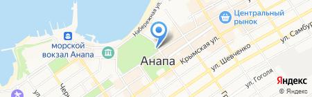 Алиса на карте Анапы