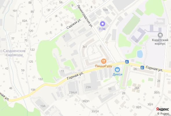 жилой комплекс Горный