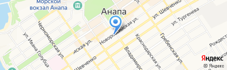 ДХЛ Интернешнл на карте Анапы