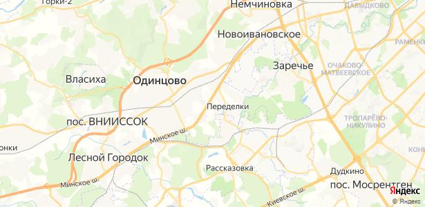 Вырубово на карте