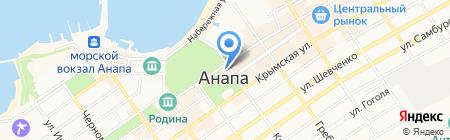 Malina на карте Анапы