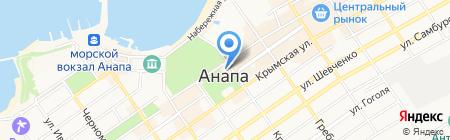 Mustang на карте Анапы
