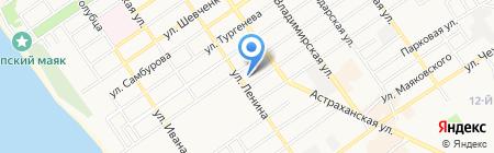 Адвокатский кабинет Магульяна А.А. на карте Анапы