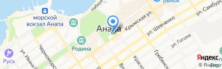 Приемная председателя совета депутатов муниципального образования на карте Анапы