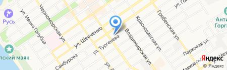 Агентство недвижимости на карте Анапы