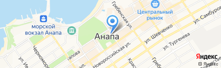 Whisky Bar CHALET на карте Анапы