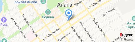 Оскар на карте Анапы