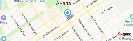 Алкотека на карте Анапы