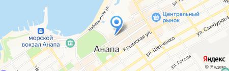 Стиль класс на карте Анапы