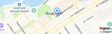 Бум parfum на карте Анапы