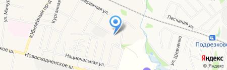 БарьерМонтаж на карте Химок