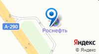 Компания АЗС Роснефть на карте