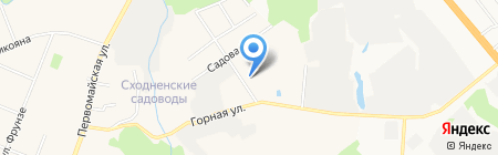 Автосервис на Ленинградской на карте Химок