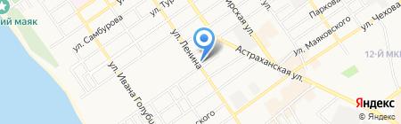 Город мастеров на карте Анапы