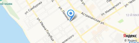 Баттерфляй на карте Анапы