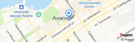 Монарх на карте Анапы