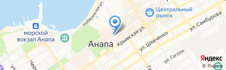 Банкомат Совкомбанк на карте Анапы