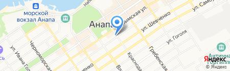 Вловушке на карте Анапы