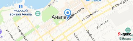 Экско на карте Анапы