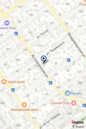 АвтоДруг-Анапа на карте Анапы