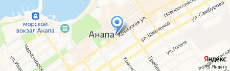Арт Хобби на карте Анапы