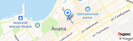 Claudia на карте Анапы