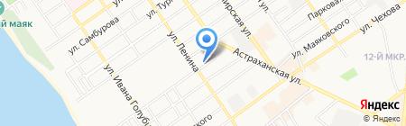 Триумф на карте Анапы