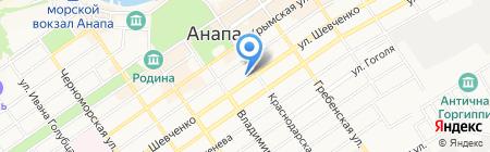 Техно Трейд на карте Анапы