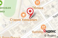 Схема проезда до компании Экспресс-оптика на Горького в Анапе