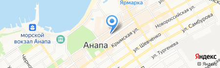 Stella на карте Анапы