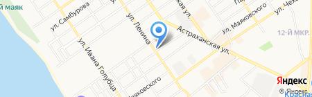 Allure на карте Анапы