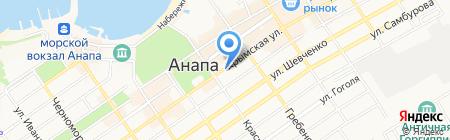 Кубань на карте Анапы