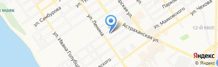 Некрасовский ЖСК на карте Анапы