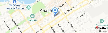Максим на карте Анапы