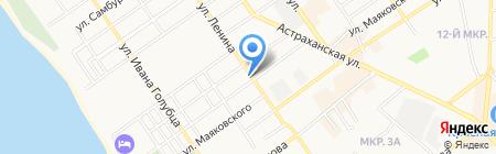 Dulux на карте Анапы