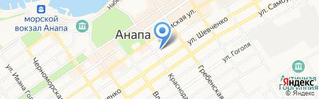 Волшебный чердачок на карте Анапы