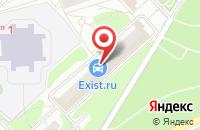 Схема проезда до компании Региональные Энергетические Системы-Мо в Красногорске