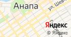 Москвичка на карте