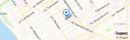 Центр Обувь на карте Анапы