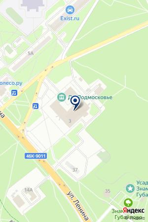 ДК ПОДМОСКОВЬЕ на карте Красногорска