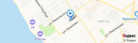 ViP на карте Анапы