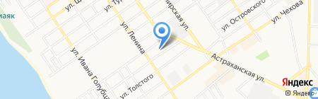 АРЭФКЬЮАР на карте Анапы